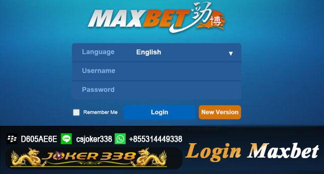 Cara Login MAXBET-IBCBET
